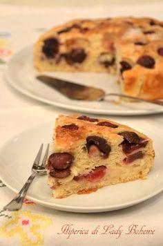 Italian food - Torta di ciliegie
