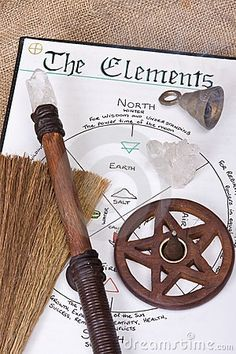 witches tools | Wiccan Ritual Tools by Creativefire, via Dreamstime