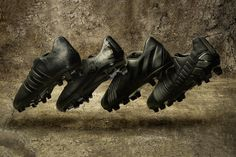 """adidas """"Black Pack"""" Boots"""