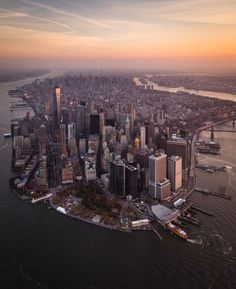 Manhattan's Sunset | New York City Feelings | Bloglovin'