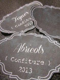 De jolies étiquettes à imprimer | © Miel & Basilic