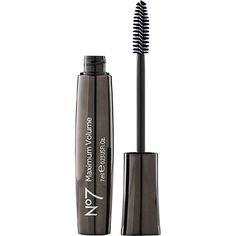No7 Maximum Volume Mascara Black