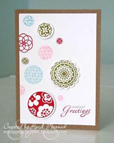 Love this card!  Circle Circus Stampin Up