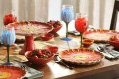 Poppy Serving Collection #kirklands #seasonaldecor