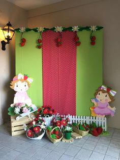 Strawberry Shortcake Birthday Party Ideas | Photo 3 of 27 | Catch My Party