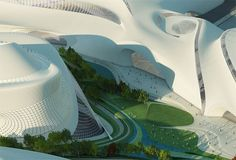 Cairo Expo City - Zaha Hadid