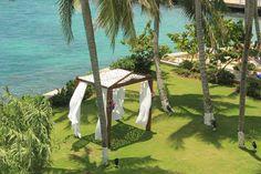 Say #Ido #caribbeanstyle #couplesresorts #gardengazebo #couplestowerisle