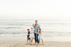 what to wear family photography - beach family photo session | photos by one eleven photography Beach Family Photos, Couple Photos, Family Photo Sessions, Heart Eyes, Santa Monica, Maui, Family Photography, Candid, What To Wear