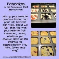 101 Best Pampered By Rochelle Brownie Pan Recipes Images
