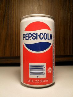 Pepsi-Cola can