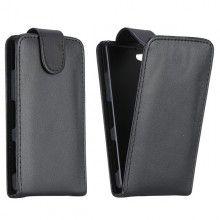 Capa Sony Xperia Z1 Compact Flip Tampa Preta R$26,30