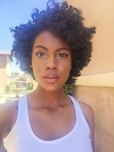 Best 15 Black Girl Short Hairstyles That Easy To Maintain For 2018 Summer , Hey, you! Are you still looking for new short haircut ideas? No more need to search here are the 15 Black Girl Short Hairstyles just gathered for ou. Cabello Afro Natural, Pelo Natural, Natural Hair Tips, Natural Hair Styles, Haircuts For Natural Hair, Short Natural Hair, Going Natural, Thick Hair, My Hairstyle