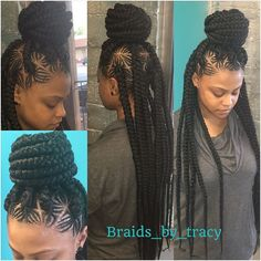 SPIDER JUMBO BRAIDS - Google Search Dope Hairstyles, African Braids Hairstyles, Braided Hairstyles, Creative Hairstyles, Big Box Braids, Jumbo Braids, Twist Braids, Twists, Micro Braids