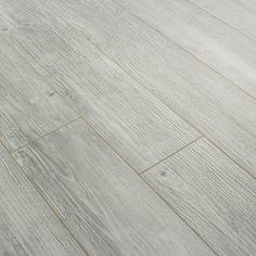 rustic stone wood industrial | Series Elite 10mm Rustic White V Groove Laminate Flooring | Series ...