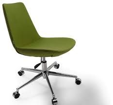 Image result for modern chairs casters, green