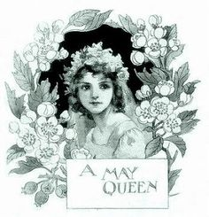 My Mother was a May Queen in 1945.