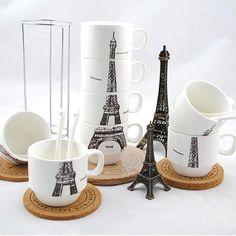 Daca esti in cautare de Cadouri pentru Cununie - iti recomand Set 4 Cani Turnul Eiffel cu ajutorul caruia orice cafea te v-a duce cu gandul la Paris  #incrediblepunctro #cadou #cadouri #cana #cafea #turneiffel #cadouripentrucununie The Incredibles, Paris, Tableware, Montmartre Paris, Dinnerware, Tablewares, Paris France, Dishes, Place Settings