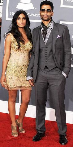 Yes, I should have a short gold dress.  Eric Benet, you can leave.