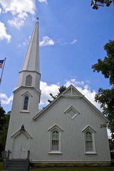 Carpenter Gothic Church, Illinois
