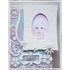 Mixed Media Canvas - Baby Frame