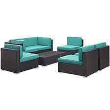 Camfora 7 Piece Deep Seating Group with Cushions
