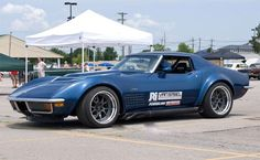 1972 Corvette Runs the AutoCross at Goodguys PPG Nationals