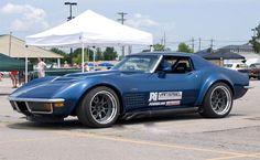 1972 Corvette Runs the AutoCross at Goodguys PPG Nationals