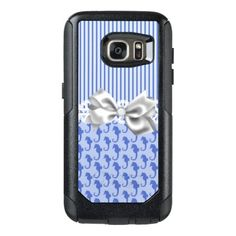 #fishing - #Blue Seahorses OtterBox Samsung Galaxy S7 Case