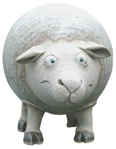 Sheep Money Box | hand-made pottery from Muggins Pottery in Leicestershire - wedding gifts, birthday presents, christening presents and anniversary gifts.