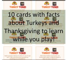 Thanksgiving Dice game - Tenzi style