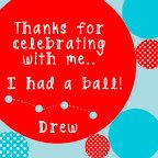 Red & Aqua BOUNCE HOUSE Favor Tag Customized and by LibbyLanePress, $8.00