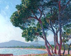 1888 Claude Monet The beach of Juan Les Pins