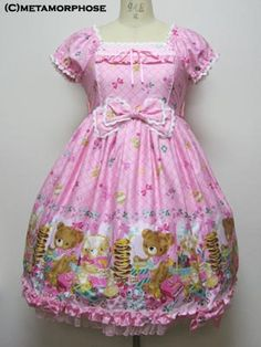 metamorphose temps de fille Honey picnic op in pink - this is one of my dream dresses! <3