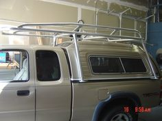 Click to view several photos of toyota ladder racks that we have built. Each ladder rack is custom made to each buyers dimensions and specifications.