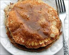 Grain Crazy: Yummy Mixed Grain Pancakes with Buttermilk Syrup