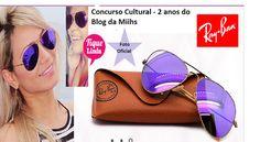 Blog da Miihs: Concurso Cultural - 2 anos do Blog da Miihs