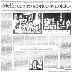 Melfi: centro storico svuotato