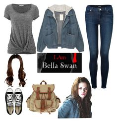 """Bella Swan/ Twilight OOTD"" by itsbrianasanders on Polyvore featuring maurices, J Brand, Converse, casual, twilight and bellaswan"