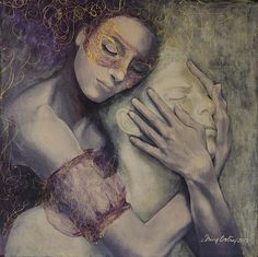 Delusion Painting by Dorina Costras - Delusion Fine Art Prints and Posters for Sale