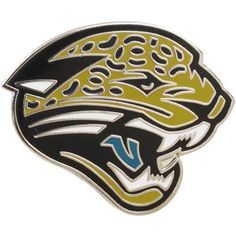 Sport your Jacksonville Jaguars spirit on anything and everything you wear with this collectible throwback team logo pin!