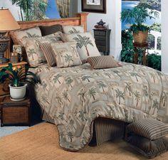 Palm Grove Comforter Set Twin