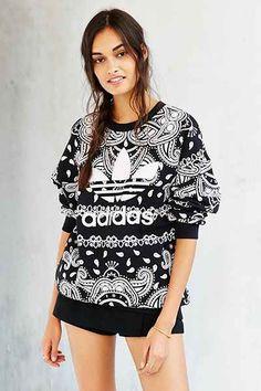 adidas Originals Paisley Sweatshirt - Urban Outfitters