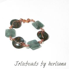 Flourite stone bracelet