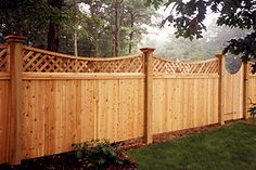 Wood Privacy Fence, Privacy Fence Designs, Fence Doors, Cedar Fence, Wood Fences, Stone Fence, Gabion Fence, Glass Fence, Picket Fences