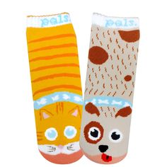 Toddler Cat & Dog Pals Socks