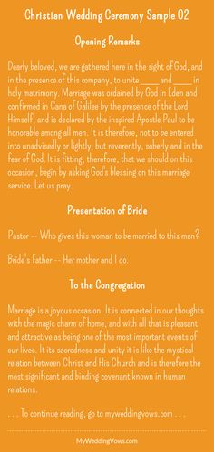 Wedding vows... - hearted by myweddingvows.com ♥
