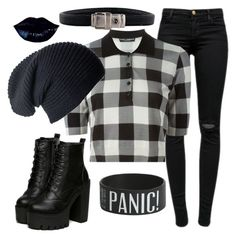 """""""Outfit #257"""" by i-love-pandas-993 ❤ liked on Polyvore featuring David Yurman, J Brand, Dolce&Gabbana, women's clothing, women, female, woman, misses and juniors"""