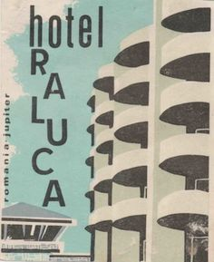 Vintage Ephemera, Vintage Postcards, Hotel Concept, Travel Tags, Luggage Labels, Logo Design, Graphic Design, Vintage Travel Posters, Vintage Photographs