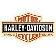 Harley Davidson Bar and Shield Sign