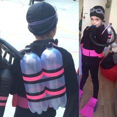Scuba diver costume